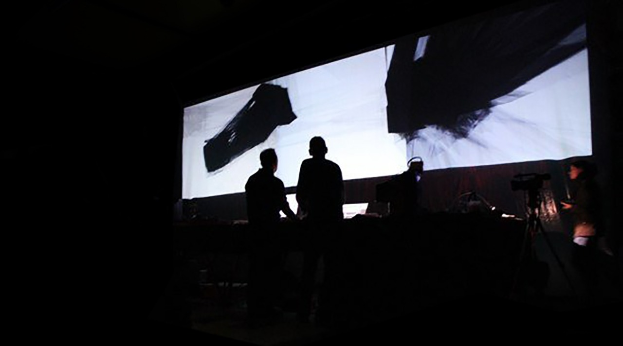 """<span class=""""entry-title-primary"""">LCM [les champs magnétiques]</span> <span class=""""entry-subtitle"""">Live audiovisual performance</span>"""